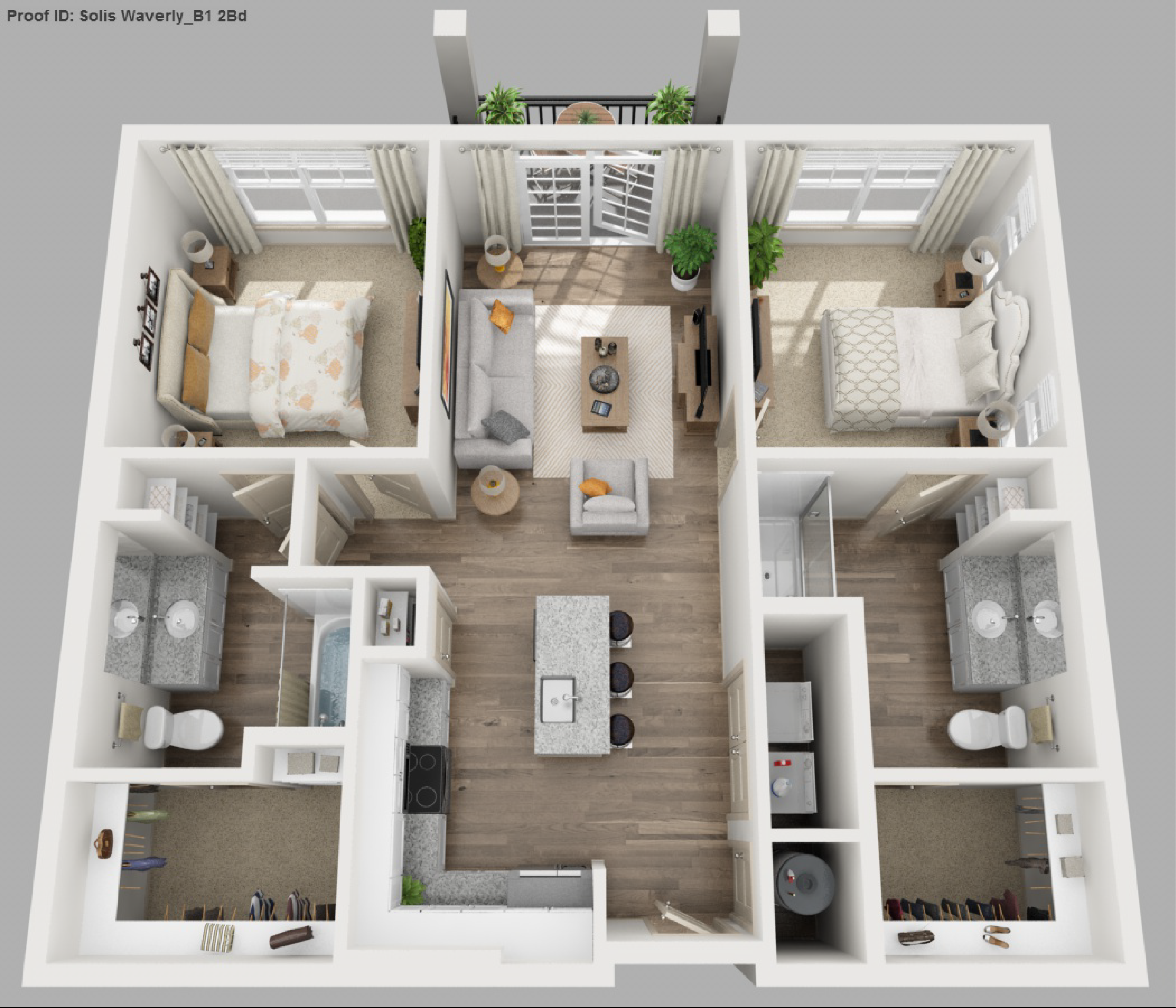 2 Bedroom Apartments Floor Plan solis apartments floorplans - waverly